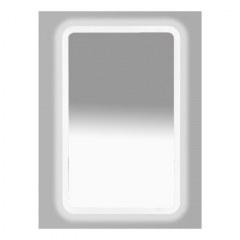Зеркало LED 500х800 сенсор на корпусе (с круглыми углами)