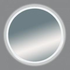 А Зеркало Misty 5 Неон LED 700х700 сенсор на корпусе (круглое)