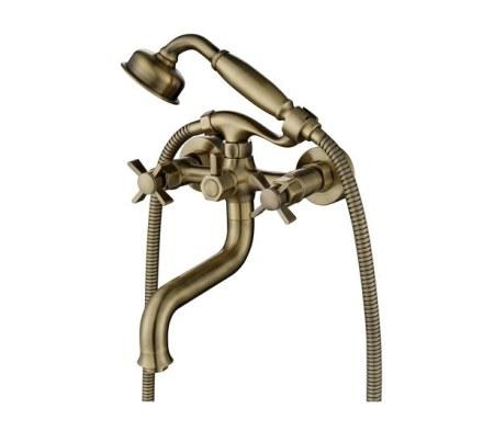 Смеситель KAISER  Cross 41022-1 Bronze для ванны