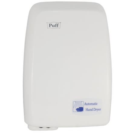 Сенсорный электросушитель для рук 'PUFF-120' БЕЛЫЙ, 1,2 КВТ 1401334