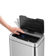 Сенсорное мусорное ведро JAVA Vagas 20L White  65759