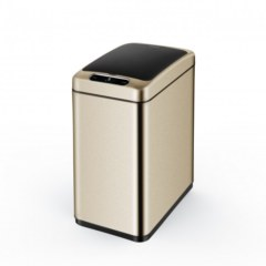Ведро мусорное сенсорное   JAVA Mary 8L Champagne Gold