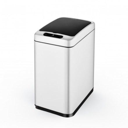 Сенсорное мусорное ведро JAVA Mary 8L White  65805