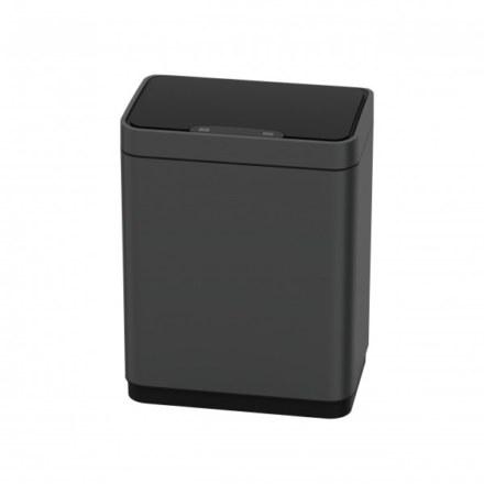 Сенсорное мусорное ведро JAVA Vagas 12L Dark Gray