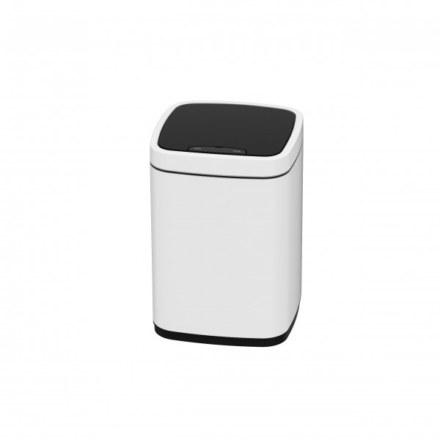 Сенсорное мусорное ведро JAVA Rome 12L White