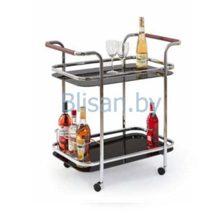 Стол сервировочный Halmar BAR-7 (черный)