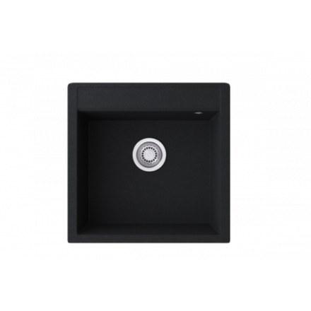 Мойка-Мраморная Kaiser 500х510 KMM-5051 Black Silver