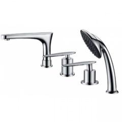 Смеситель для ванны на 4 отверстий Kaiser Star 02222