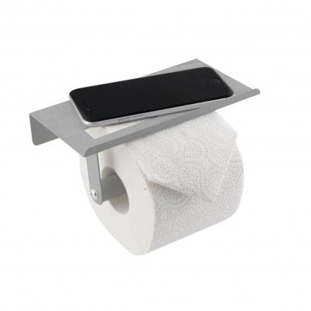 Держатель для туалетной бумаги с полочкой AXENTIA 129622