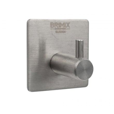 Крючок одинарный  самоклейка без сверления BRIMIX 535
