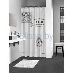 Штора для ванной комнаты 180*200 Savon De Provence White Нидерланды