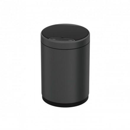 Сенсорное мусорное ведро JAVA Midy 12L Dark Gray 65787