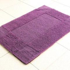 Коврик хлопковый в ванную LIDO 80X50 фиолетовый