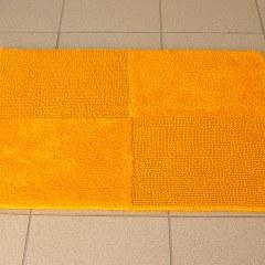 Коврик хлопковый в ванную KARO 75X50 желтый