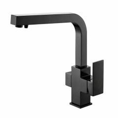 Смеситель для кухни под фильтр Kaiser Sonat 34044-9 Черный глянец