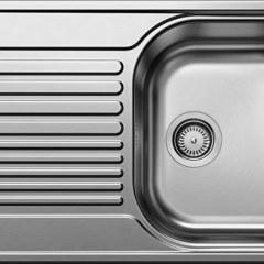 Мойка из нерж. стали BLANCO TIPO 45 S Compact декор