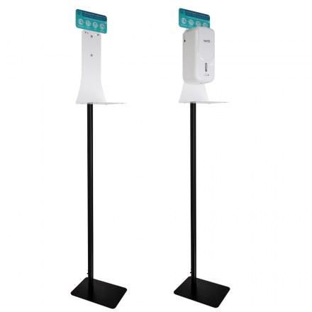 Мобильная стойка с каплесборником для сенсорных дозаторов GFmark Санакс 3859
