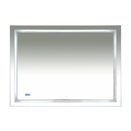 Зеркало Misty Неон 2 LED 1200×800 сенсор на зеркале + часы