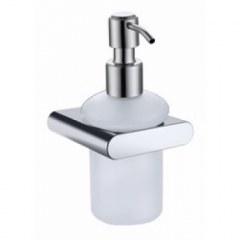 Дозатор для жидкого мыла настенный (стекло) Kaiser KH-2710 хром