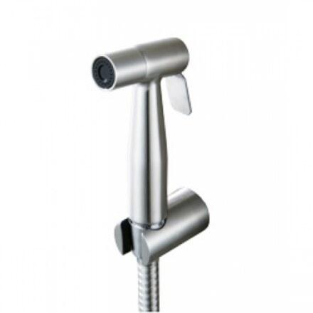 Гигиенический набор Kaiser SH-347 Хром, металлический с клапаном (Лейка + шланг)