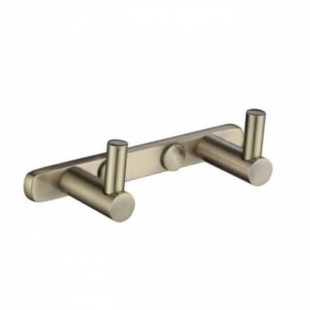 Планка с 2-мя крючками Kaiser H0022 Bronze