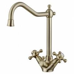 Смеситель для кухни под фильтр Kaiser Carlson Style 44333-1 Bronze