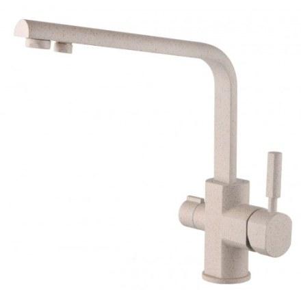 Смеситель для кухни под фильтр Kaiser Decor 40144-8 Sand