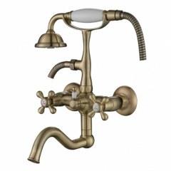 Смеситель для ванной Kaiser Carlson Style 44422-1 Bronze
