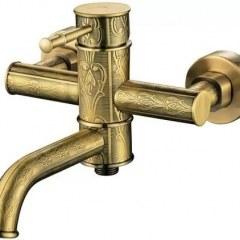 Смеситель для ванной Kaiser – Milos 51022-1 Bronze