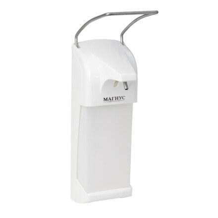 а Дозатор локтевой для жидкого мыла и антисептика MAGNUS 698
