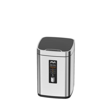 Сенсорное мусорное ведро  9L Matt Steel  883-9L
