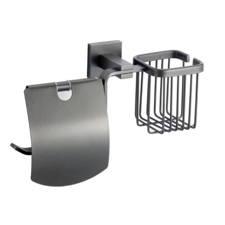 Держатель для туалетной бумаги и освежителя SavolДержатель для туалетной бумаги и освежителя Savol S-L06551Q