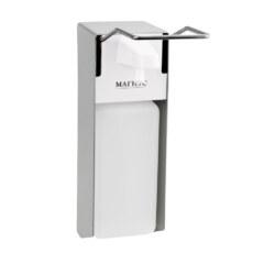 а Дозатор локтевой для жидкого мыла и антисептика MAGNUS 699