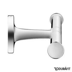 Двойной крючок для полотенца Хром Duravit Starck T 0099301000