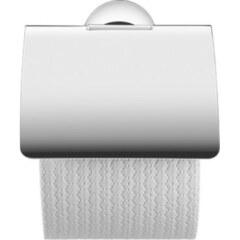 Держатель для туалетной бумаги с крышкой Хром Duravit Starck T 0099401000