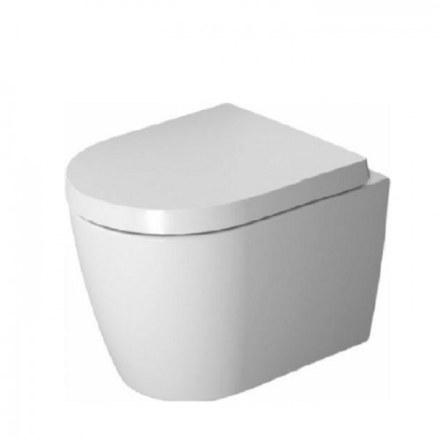 Унитаз подвесной Duravit ME by Starck 45300900A1 (253009+002019), Комплект: унитаз+сиденье