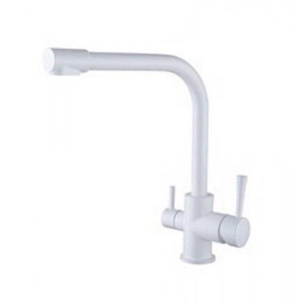 Смеситель для кухни под фильтр Kaiser Merkur 26044-10 White