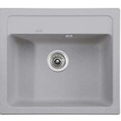 Мойка гранитная для кухни KAISER 570x500x200 Grey, KGM-5750-G