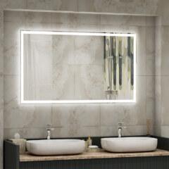 Зеркало 1000 х 700 мм , сенсорное , с внутренней LED подсветкой 10045215
