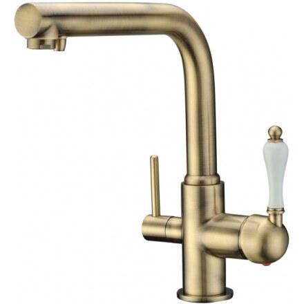 Смеситель для кухни под фильтр Kaiser Vincent 31144-3 Bronze