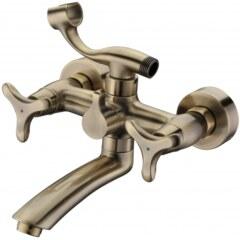Смеситель для ванной Kaiser – Trio 57122-1 Bronze